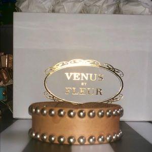 Jewelry - Leather Studded Arm Cuff/Bracelet